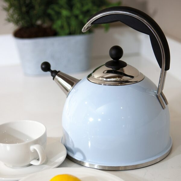 AGA Whistling Kettle Duck Egg Blue