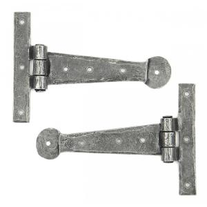 """From The Anvil 33788 Pewter 6"""" T Hinge (pair)"""
